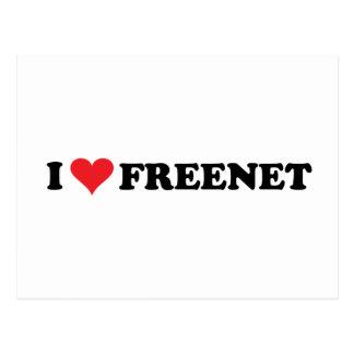 I freenet 2 del corazón tarjeta postal