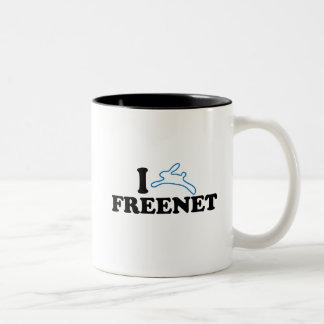 I freenet del conejito tazas