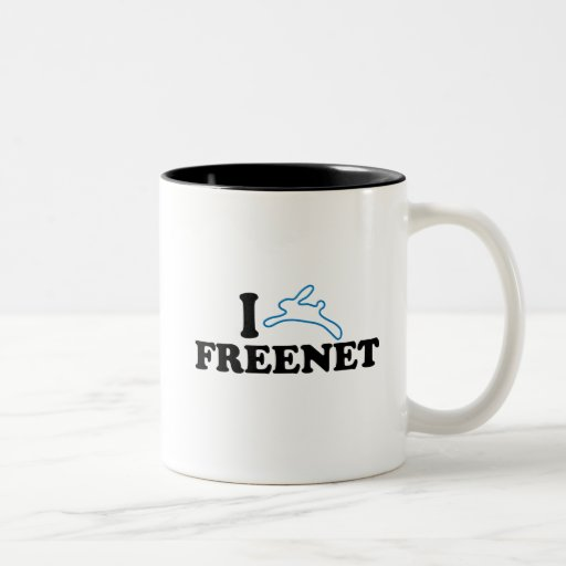 I freenet del conejito taza dos tonos