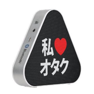 I friki del japonés del ~ de Otaku del corazón Altavoz Bluetooth