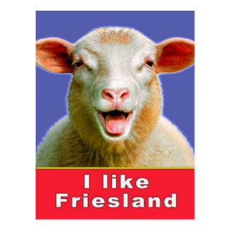 I Frisia like Tarjeta Postal