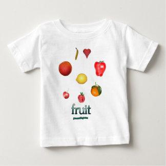 I fruta del corazón camisetas