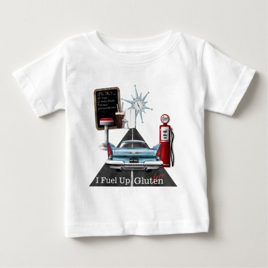 I Fuel Up Gluten Free Baby T-Shirt