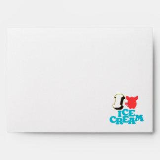 I Furby Ice Cream Envelope