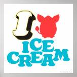 I Furby Ice Cream Poster