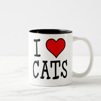 I gatos del corazón taza
