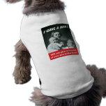 I Gave A Man! Doggie Tshirt