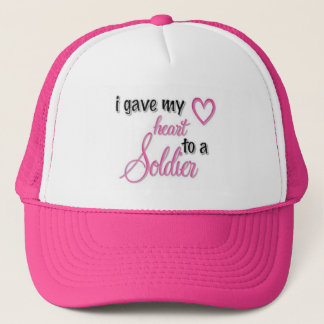 """I Gave My Heart To A Soldier"" Trucker Hat"