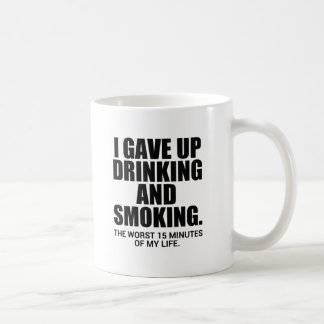 i gave up coffee mugs