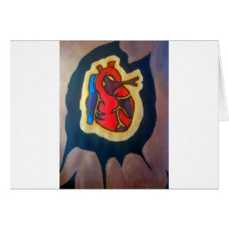 I gave you my heart card