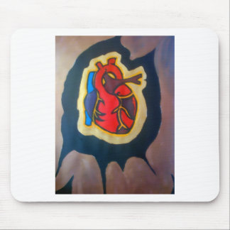 I gave you my heart mouse mats