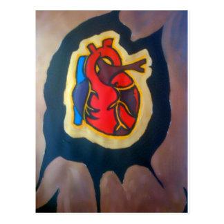 I gave you my heart postcard