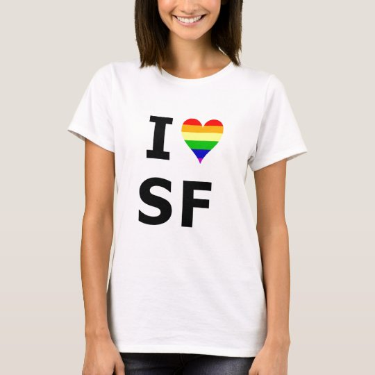 I Gay Heart San Francisco T-Shirt