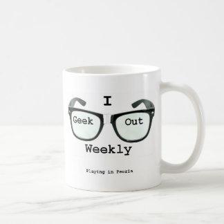 I Geek Out Weekly Version 2 Coffee Mug