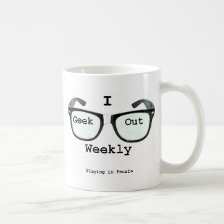 I Geek Out Weekly Version 2 Mug