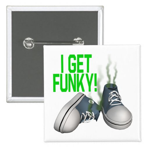 I Get Funky Pin