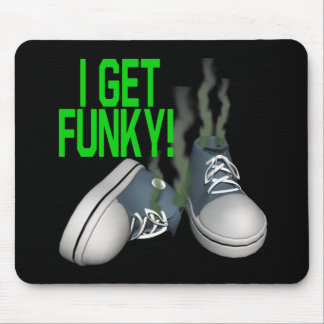 I Get Funky Mouse Pad