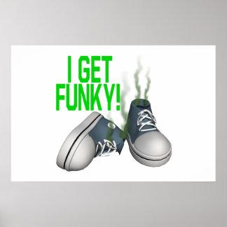 I Get Funky Poster