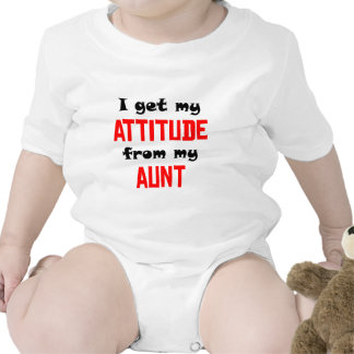 I Get My Attitude From My Aunt Rompers