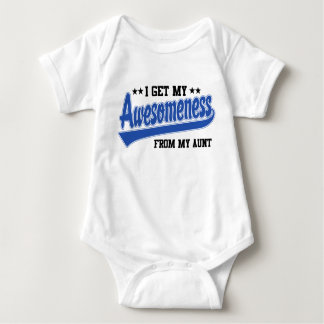 I Get My Awesomeness From My Aunt T Shirt