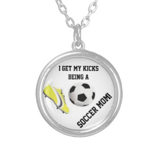 I get my kicks being a soccer mom! Necklace