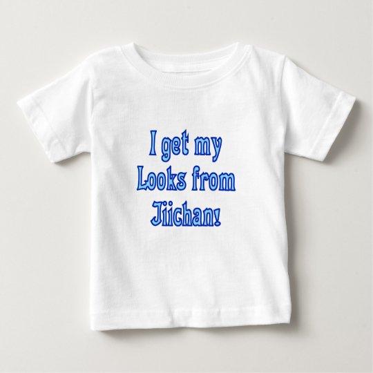 I get my Looks from Jiichan Baby T-Shirt