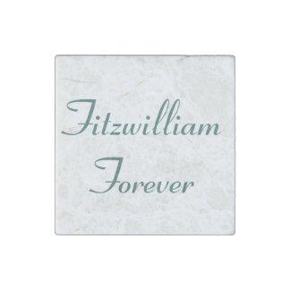 I Get to Call Mr. Darcy Fitzwilliam Austen Quote Stone Magnet