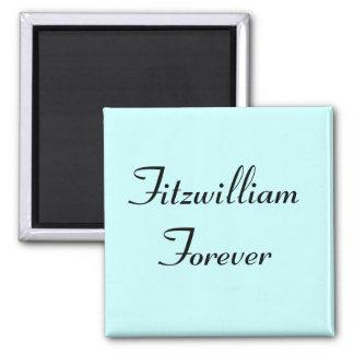 I Get to Call Mr. Darcy Fitzwilliam Austen Quote Refrigerator Magnet