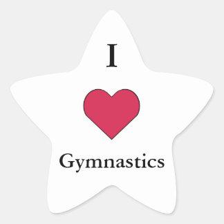 I gimnasia del corazón colcomanias forma de estrellas