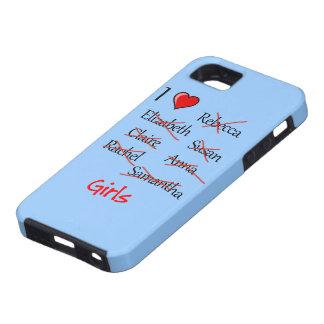 'I ♥ Girls' iPhone 5 Covers