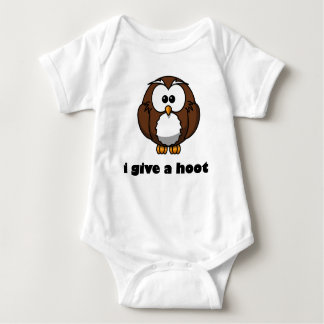 I Give A Hoot Baby Bodysuit