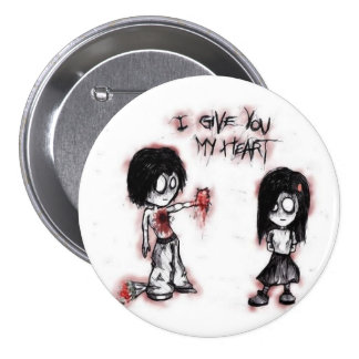 """""""I give you my heart"""" button"""