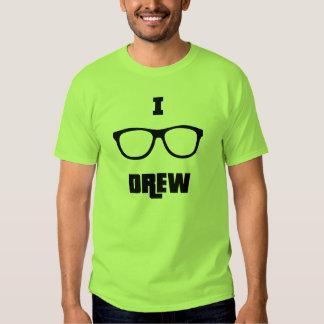 I (glasses) Drew Tee Shirt