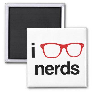 i :glasses: nerds 2 inch square magnet