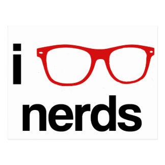 i :glasses: nerds postcard