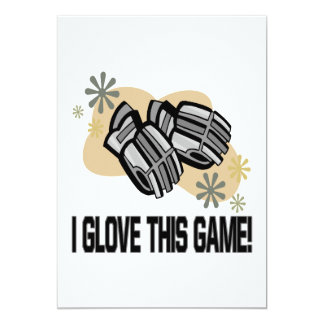 I Glove This Game Card
