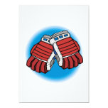 I Glove This Game Custom Invitations