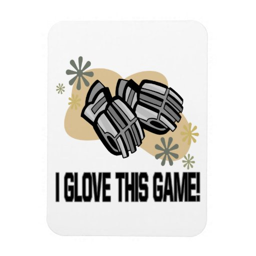 I Glove This Game Flexible Magnets
