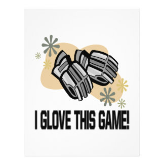I Glove This Game Flyers