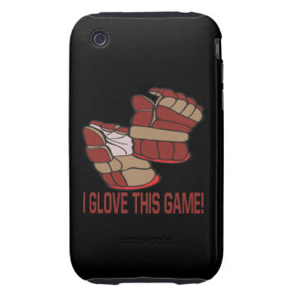 I Glove This Game iPhone 3 Tough Cover