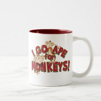I Go Ape For Monkeys! Mug
