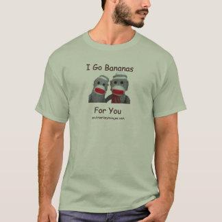 I Go Bananas For You T-Shirt