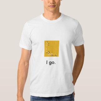 'I go.' Go (game) shirt