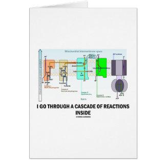 I Go Through A Cascade Of Reactions Inside Greeting Card