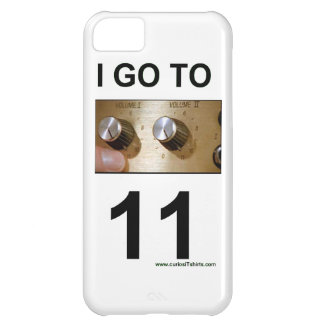 I go to 11 cover for iPhone 5C