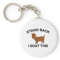 I Goat This Keychain