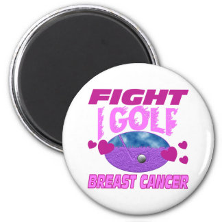 I Golf > Fight Breast Cancer Magnet