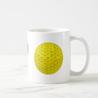 I golf love taza clásica