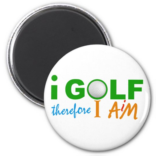 I GOLF magnet