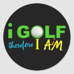 I GOLF stickers